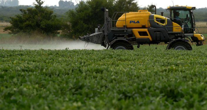 美媒:中國暫停採購美國農產品