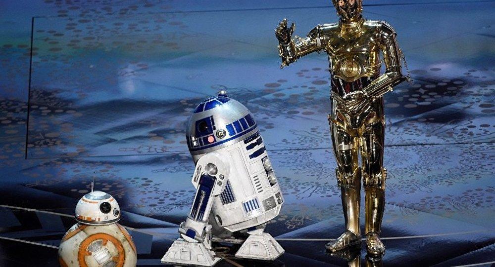 德國教授將天學台漆成星戰機器人
