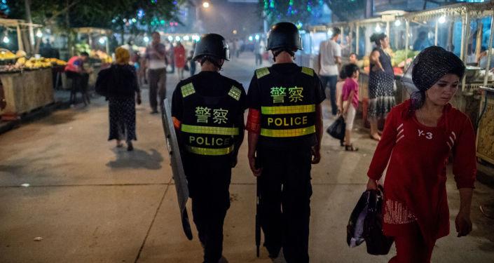 中國外交部敦促有關國家停止將人權問題政治化和借涉疆問題干涉中國內政