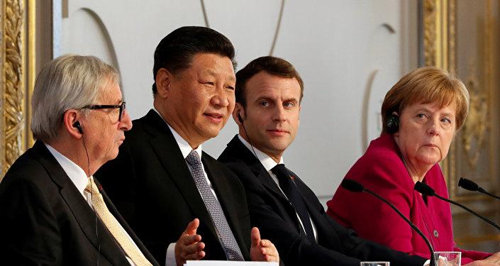 馬克龍提出加快歐盟與中國推進的WTO現代化改革工作