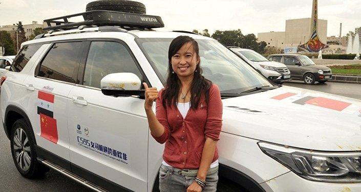 中國記者吳珊