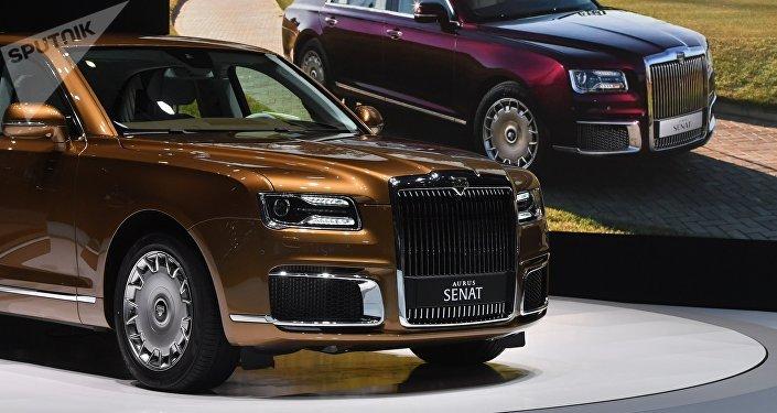 Премьера автомобиля Aurus на Женевском автосалоне