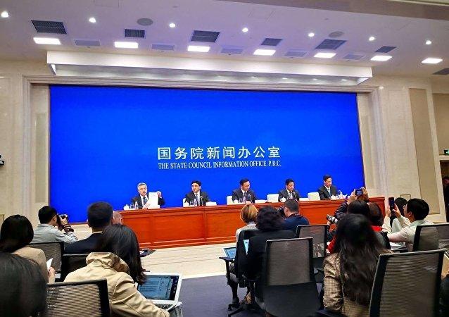 中国国务院新闻办公室3月27日发表《伟大的跨越:西藏民主改革60年》白皮书