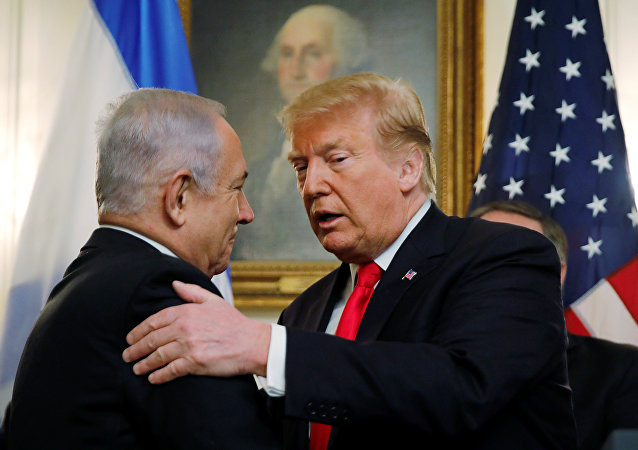 U.S. President Trump welcomes Israel's Prime Minister Netanyahu at the White House in Washington