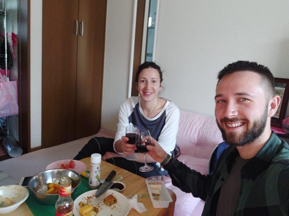 """欢迎晚餐·克谢尼娅和来自以色列的""""沙发客"""""""