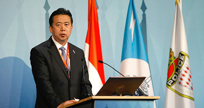 原中国公安部副部长、国际刑警组织主席孟宏伟