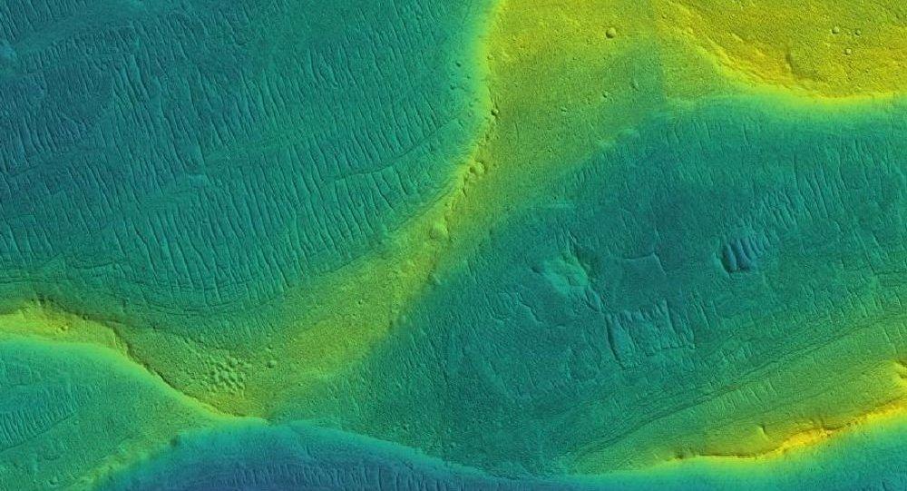 火星的干河床