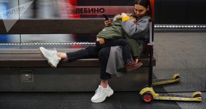 莫斯科地铁日常