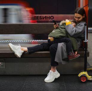 莫斯科地鐵日常