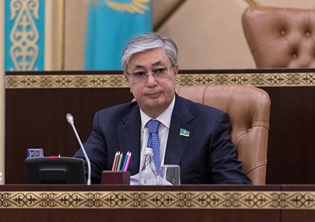哈萨克斯坦总统卡瑟姆若马尔特·托卡耶夫