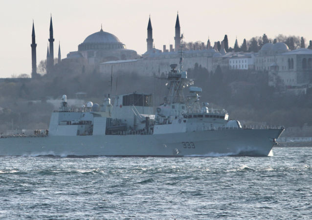 加拿大拟增加军舰在黑海的航行次数