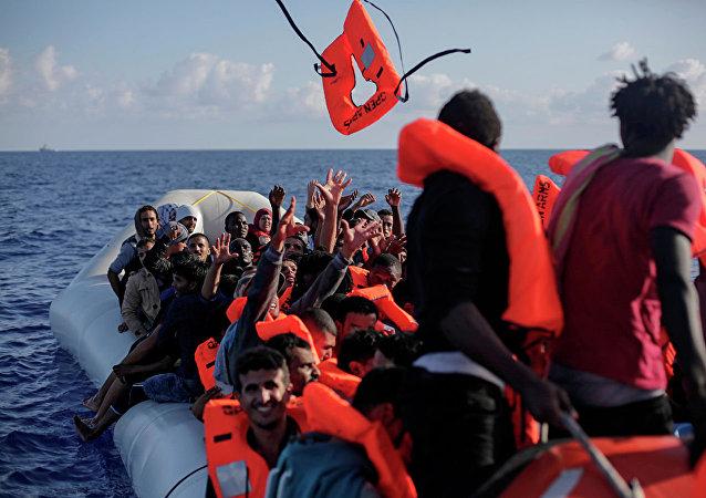 欧盟自2015年以来在地中海救援近73万难民