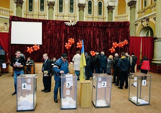 乌中选委:统计完国外选区的95.04%选票后波罗申科以38.79%的得票率领先