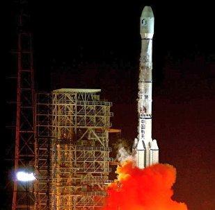 中國成功發射通信技術試驗衛星四號