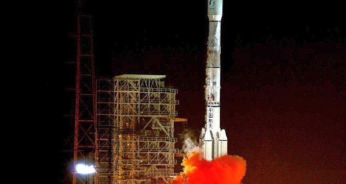 中国成功发射通信技术试验卫星四号