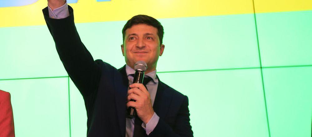 泽连斯基的支持率创乌克兰历史新高