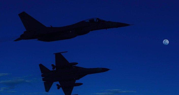 为何大陆战机出现在了台湾海峡上空?