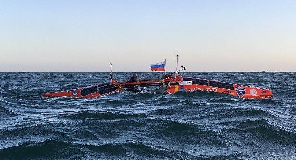 费奥多尔∙科纽霍夫的船