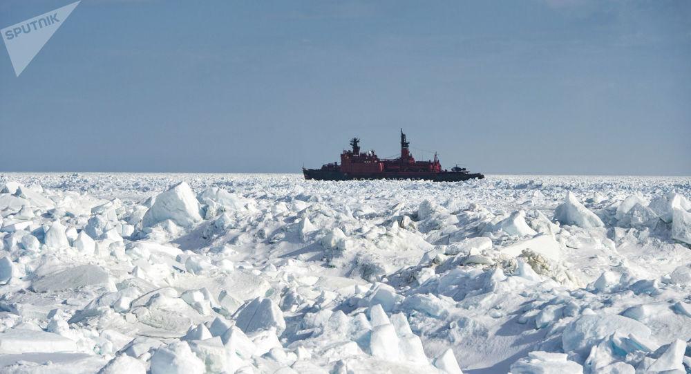 俄將耗資1000億多盧布新建兩艘「北極」號原子能破冰船