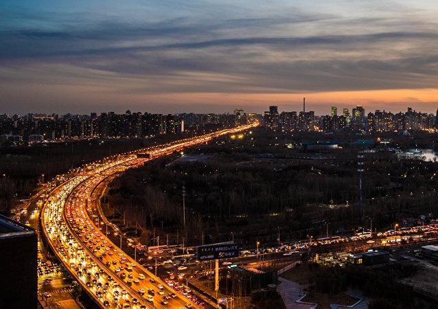 Вид на Пекин