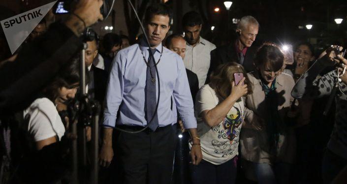 瓜伊多否認其參與推翻委內瑞拉當局的陰謀