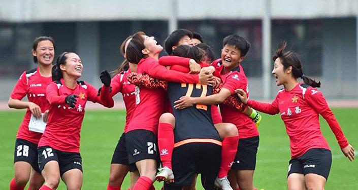 中国女足在友谊赛上大败必威体育女足
