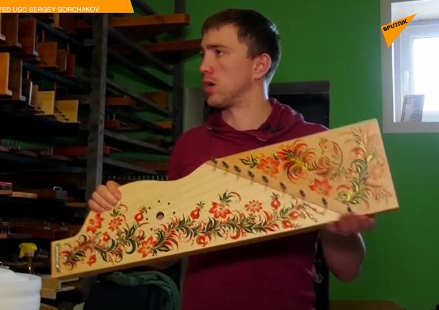 走近俄罗斯古老民族乐器古斯里琴