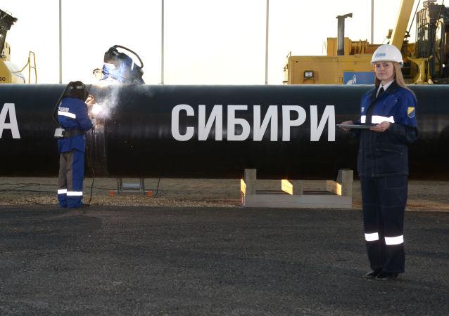 """俄将于8月开始为通往中国的""""西伯利亚力量"""" 管线开采天然气"""