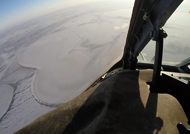 Su-25SM戰鬥機參加車里雅賓斯克地區軍事演習