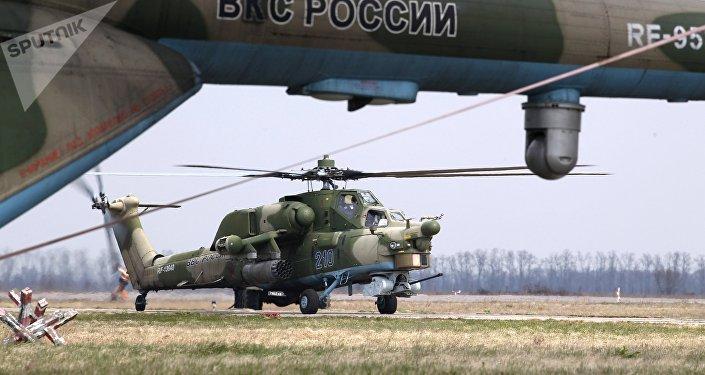 米-28H」夜間獵手「武裝直升機