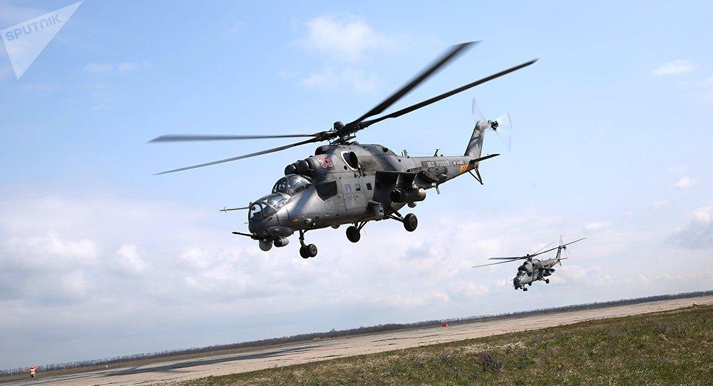 來自誕生俄羅斯「飛水牛」的直升機廠的報道