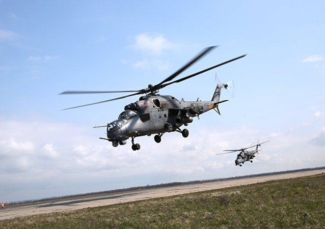 Вертолет МИ-35М