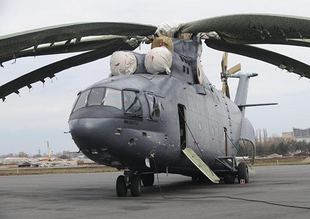 Военно-транспортный вертолет Ми-26Т2