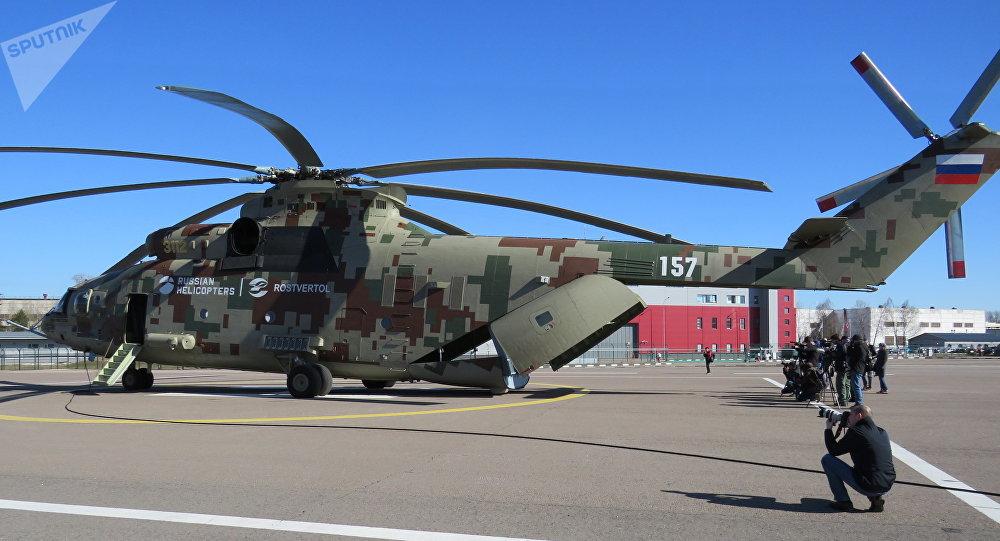 """米-26-T2B:最新版俄罗斯""""超级直升机"""""""