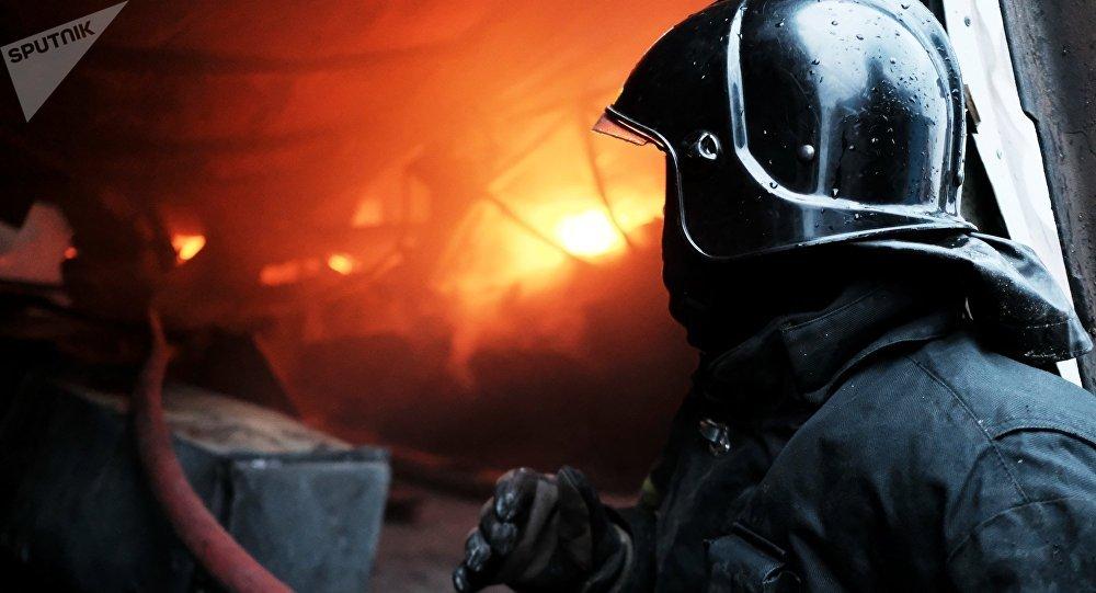 俄緊急情況部:外貝加爾大火造成約110棟房被燒毀