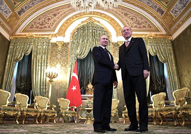 普京:除S-400俄方还有其他向土耳其供应军用产品的项目