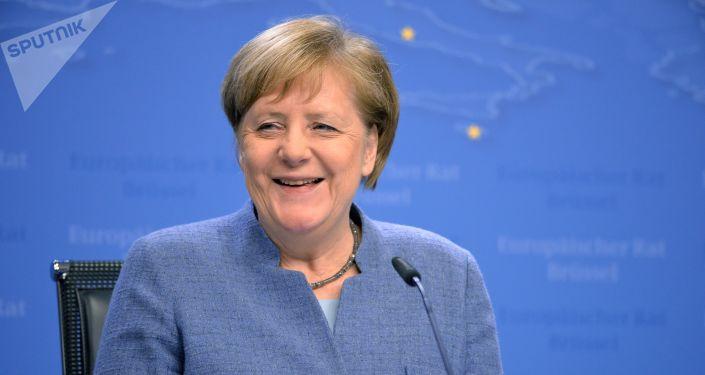 德国总理安格拉•默克尔