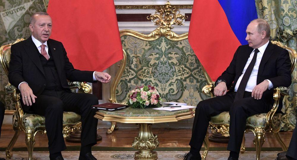 克宫:普京将分别与土耳其和伊朗领导人举行双边会谈