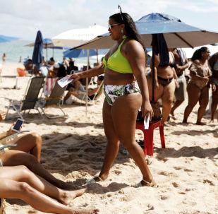 巴西反对肥胖恐惧症抗议活动