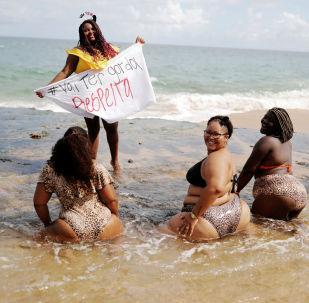 巴西反對肥胖恐懼症抗議活動