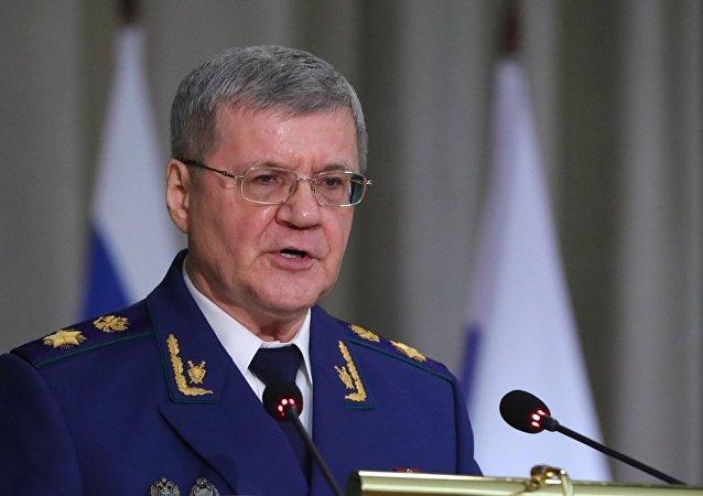 俄羅斯總檢察長尤里·柴卡