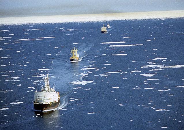 中遠集團沿北方海路的航次將翻一番