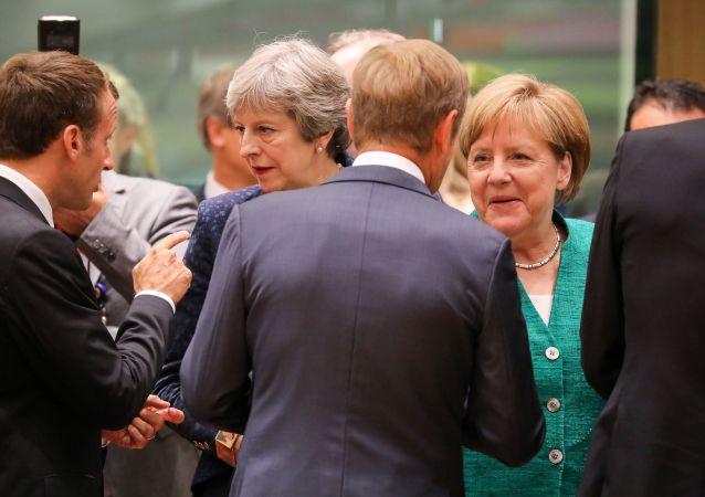 英国首相和德国总理赞同英国有序退出欧盟