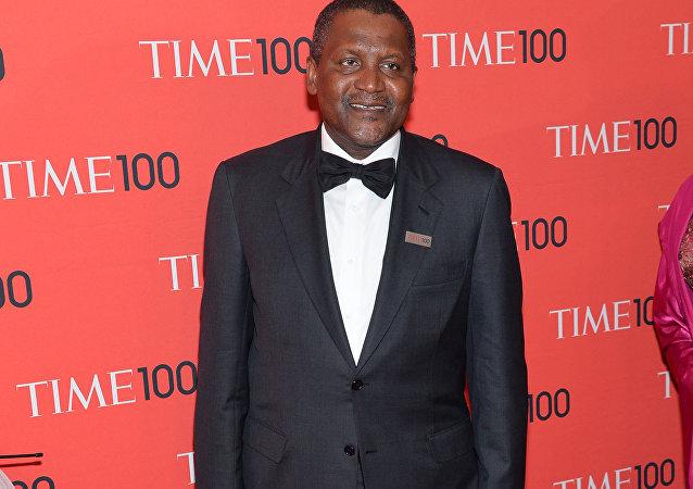 尼日利亚商业大亨阿里科·丹格特