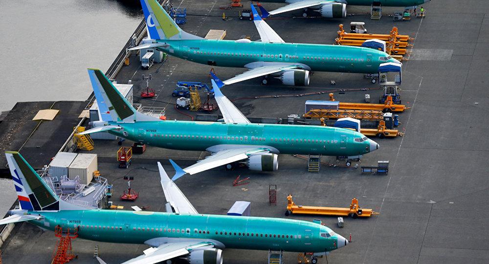 Boeing 737 MAX在波音飛機製造廠
