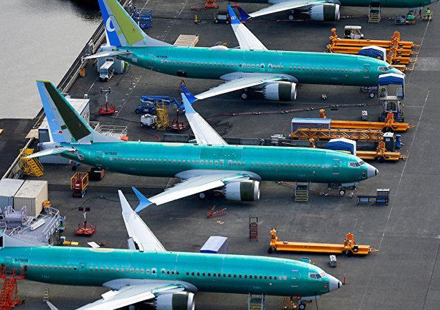 Boeing 737 MAX在波音飞机制造厂