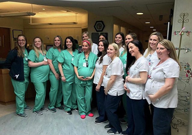 美國一產院有15名護士同時懷孕