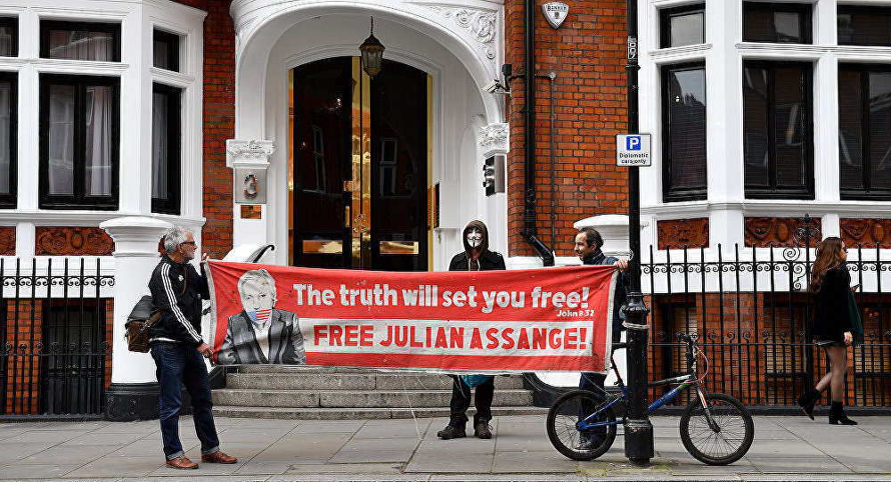 倫敦警察廳拒絕透露阿桑奇被羈押的監獄
