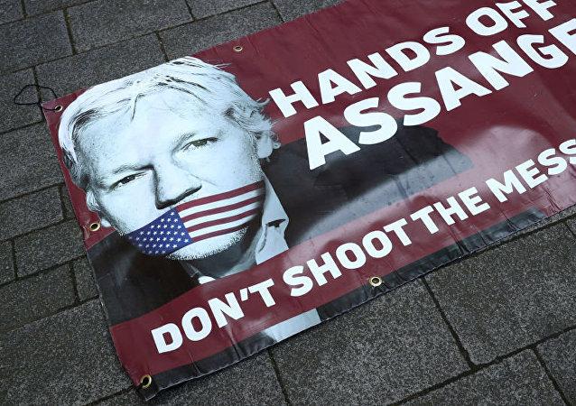 倫敦不會把阿桑奇引渡到有死刑的國家