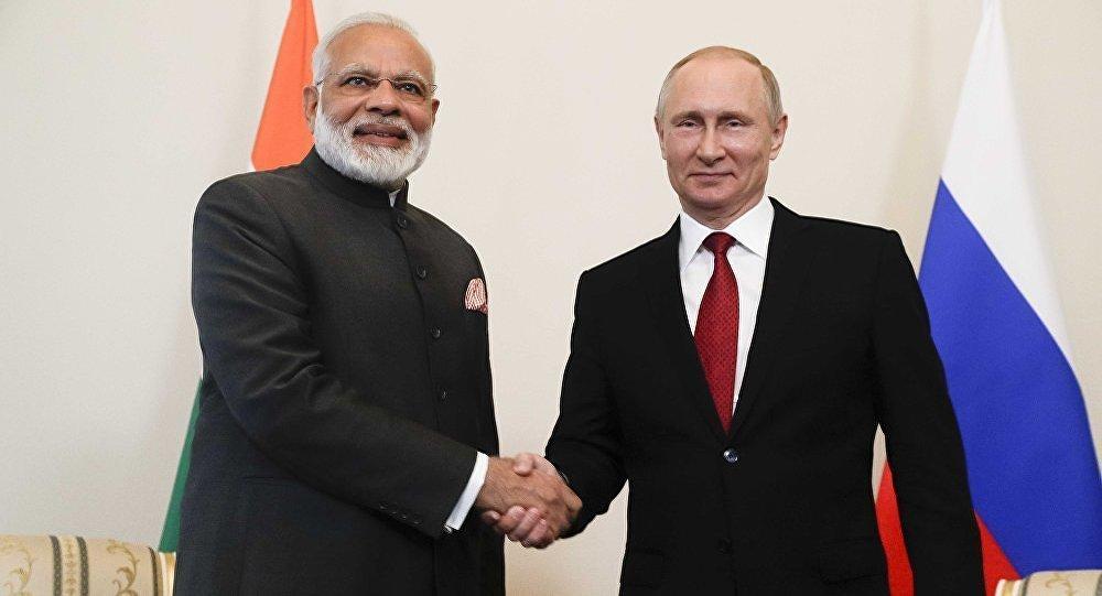 莫迪建议普京在大阪G20峰会期间会晤 并举办俄印中三方会谈